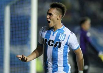 Atlético and Racing in talks over Lautaro Martínez