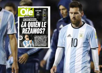 Argentinean press attacks Messi once again