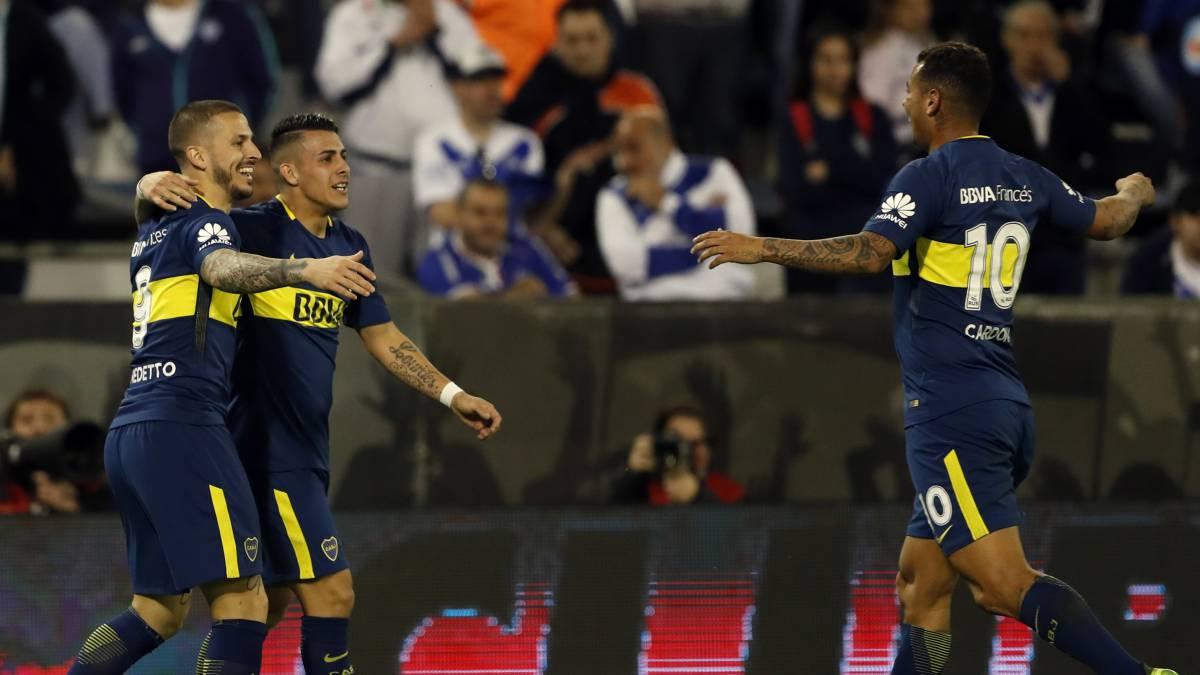 Vélez 0-4 Boca: resumen, goles y resultado