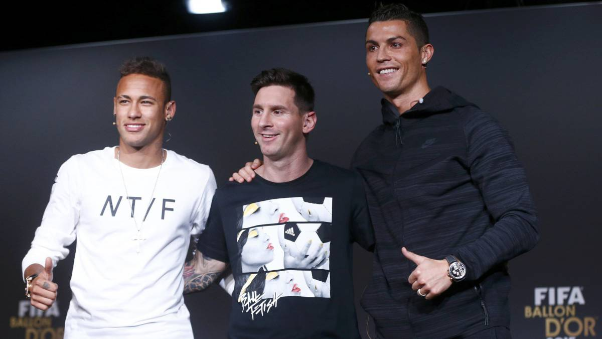 "Messi, Cristiano y Neymar se pelear por ""The Best"""