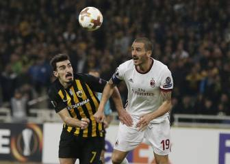AEK-Milan en vivo online: Europa League