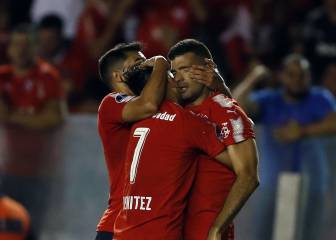 Independiente se exhibe y vence a Flamengo