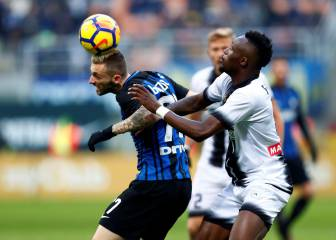 Inter Milan lose unbeaten record with shock Udinese defeat
