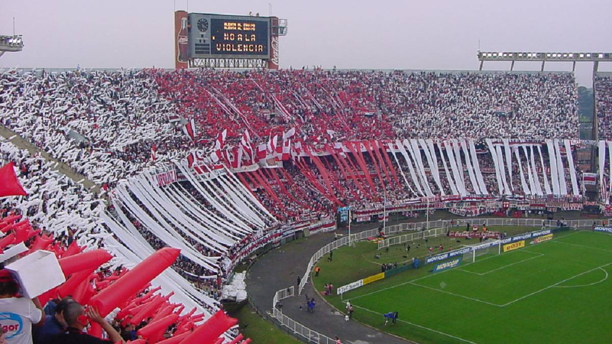 Estadio Monumental de River Plate.
