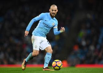 Descanso: el City domina en el regreso de David Silva