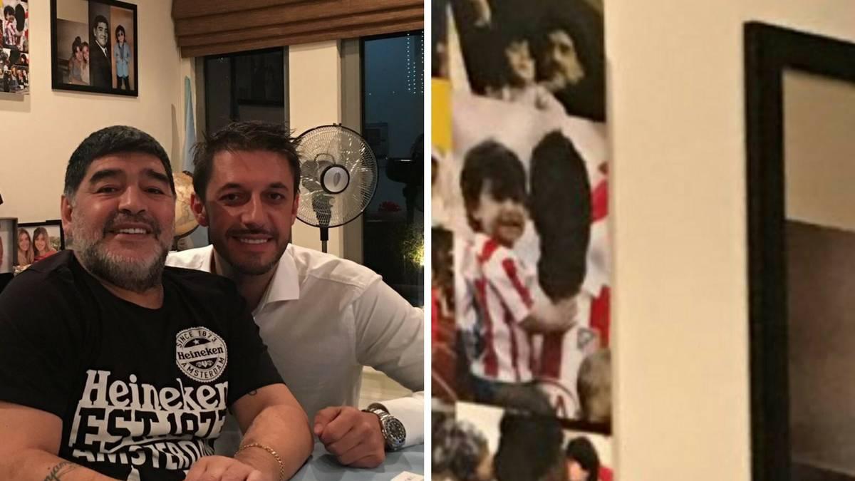 Diego Maradona has not forgiven former-son-in-law Sergio Agüero
