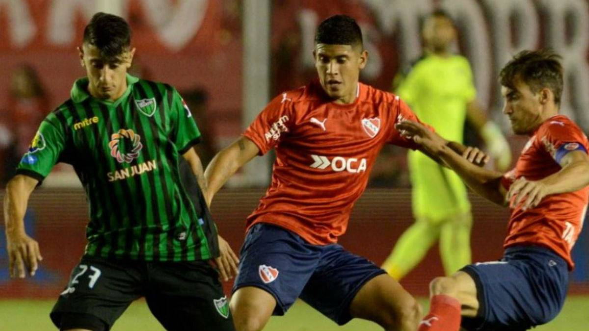 San Martín - Independiente en vivo: Superliga argentina