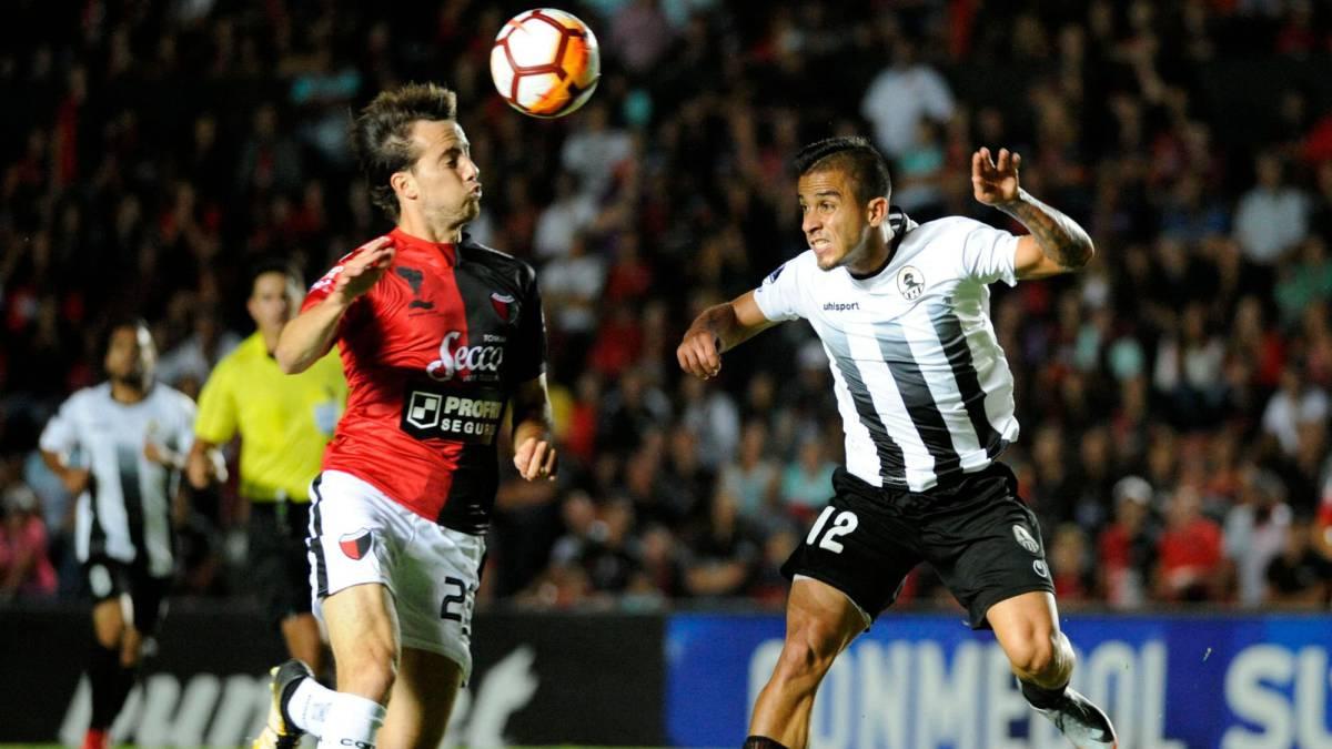 Colón venció a Zamora por 1-0 y clasificó a la segunda ronda de la Copa Sudamericana.