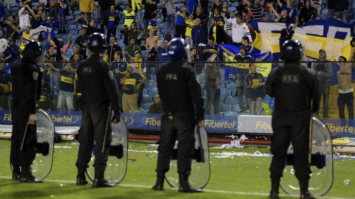 Despliegue total de seguridad en Mendoza para el Boca-River