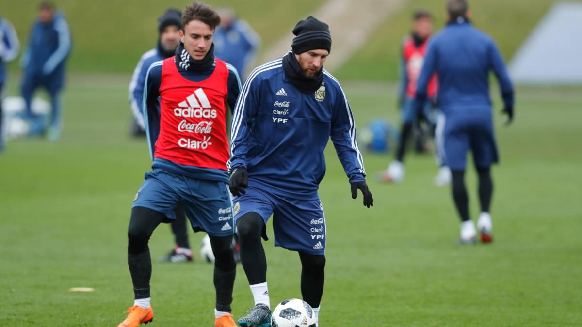 Messi no descansa: será titular ante Italia y ante España