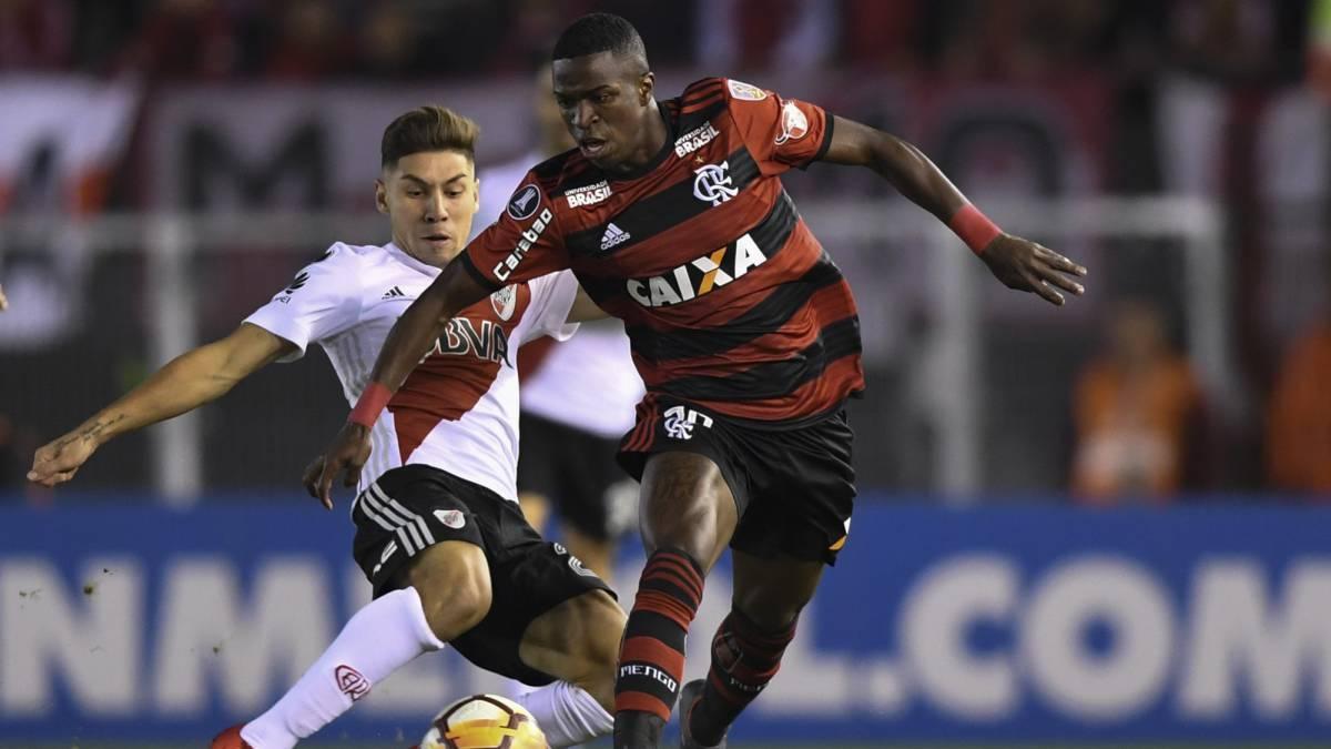 River 0 0 Flamengo goles resumen y resultado AS Argentina