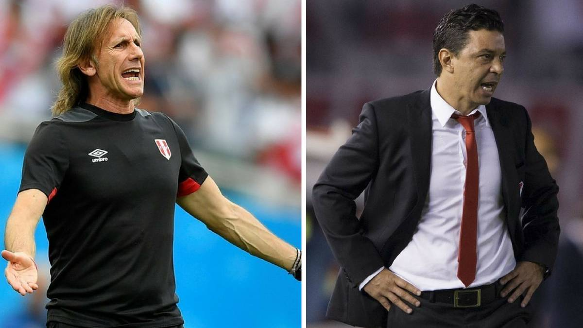 Gareca and Gallardo: candidates for the Argentina post