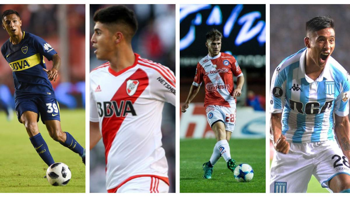 Las 10 jóvenes promesas de la Superliga Argentina