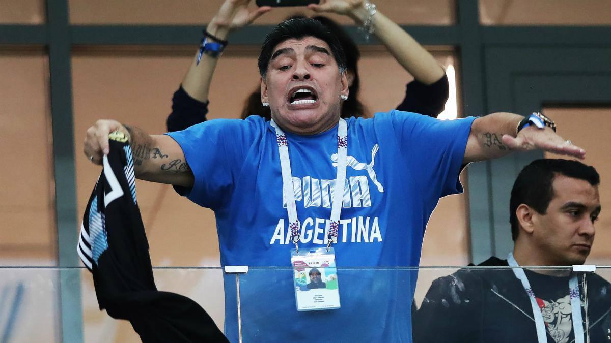 Maradona habla sobre Messi, la actual Albiceleste, el nuevo DT...
