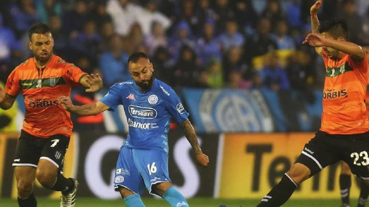 Belgrano 1-1 Banfield  goles de1a8fc78353c