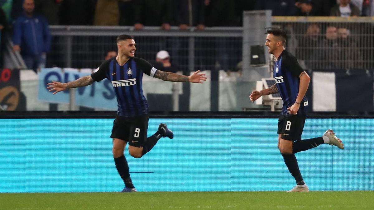 El Inter se impone a la Lazio (0-3) y se coloca segundo