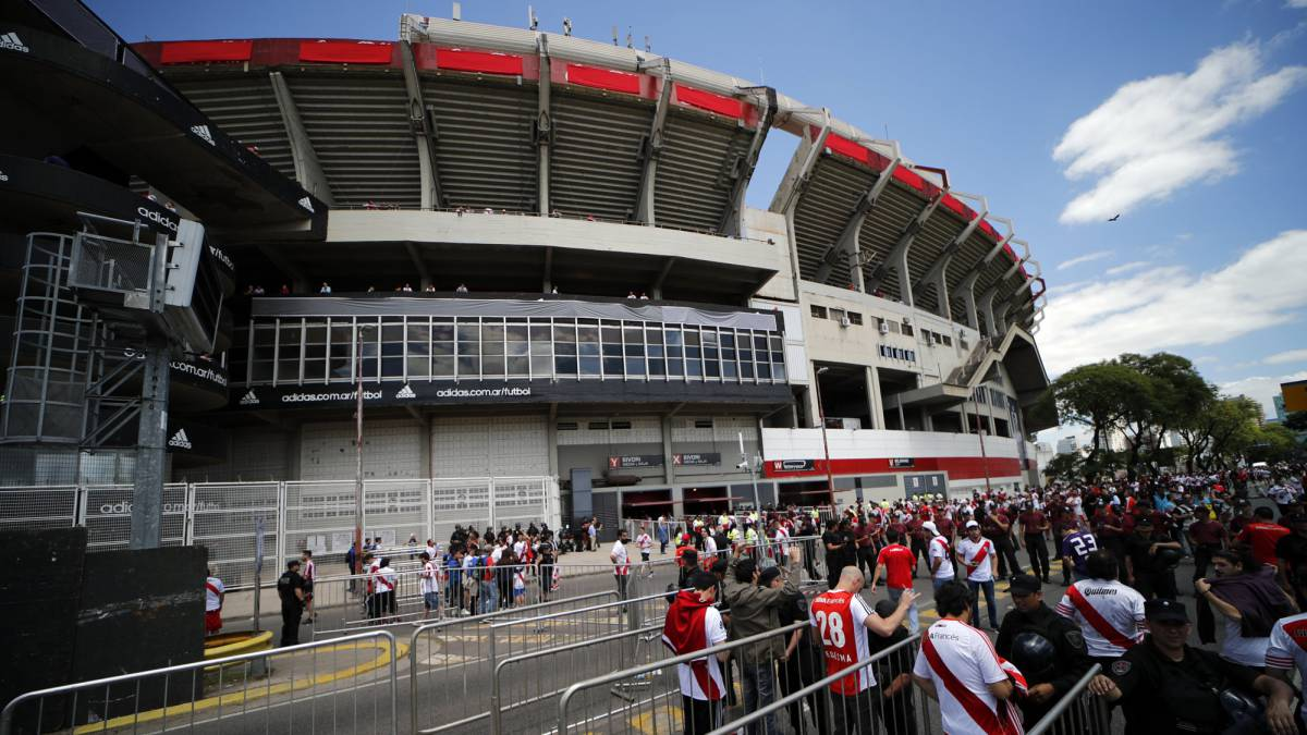 River-Boca: El Monumental stadium closure lifted