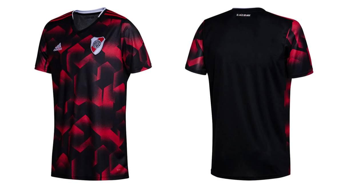 89ec76d28c1db River Plate River presentó oficialmente su camiseta alternativa para ...
