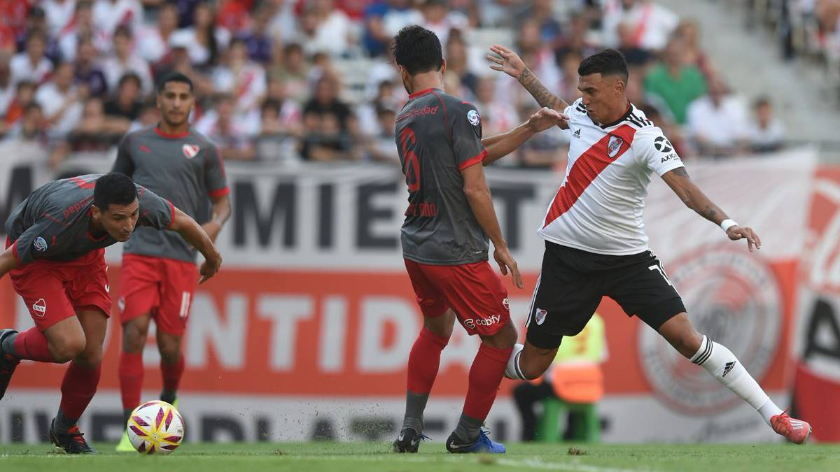 River 3-0 Independiente  goles 5105dd71190a4