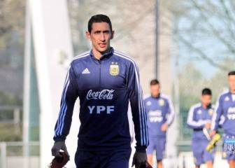 Muscular injury rules Di María out of Argentina friendlies