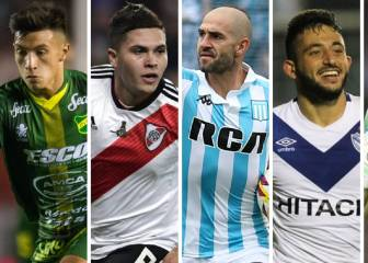 XI ideal de la Superliga: Arias, Rojas, Quintero, Licha López...