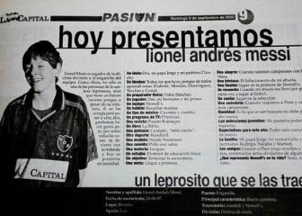 Leo Messi at 13 - an interview with the future Barcelona star