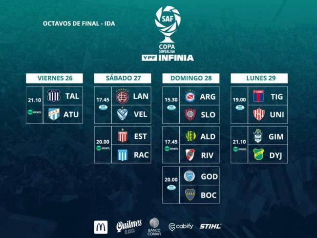 tecnicas modernas completamente elegante venta al por mayor Copa de la Superliga: horarios, partidos y fixture la ida de ...