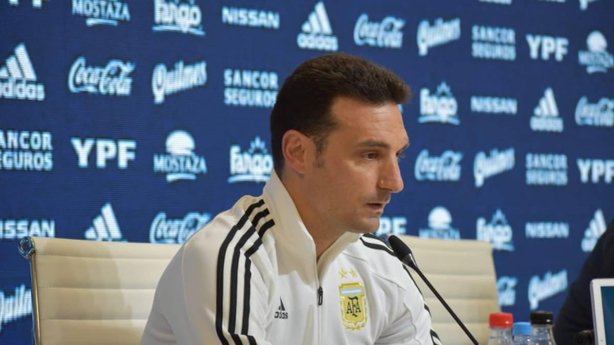 Lista Argentina: consulta los 23 convocados por Scaloni a