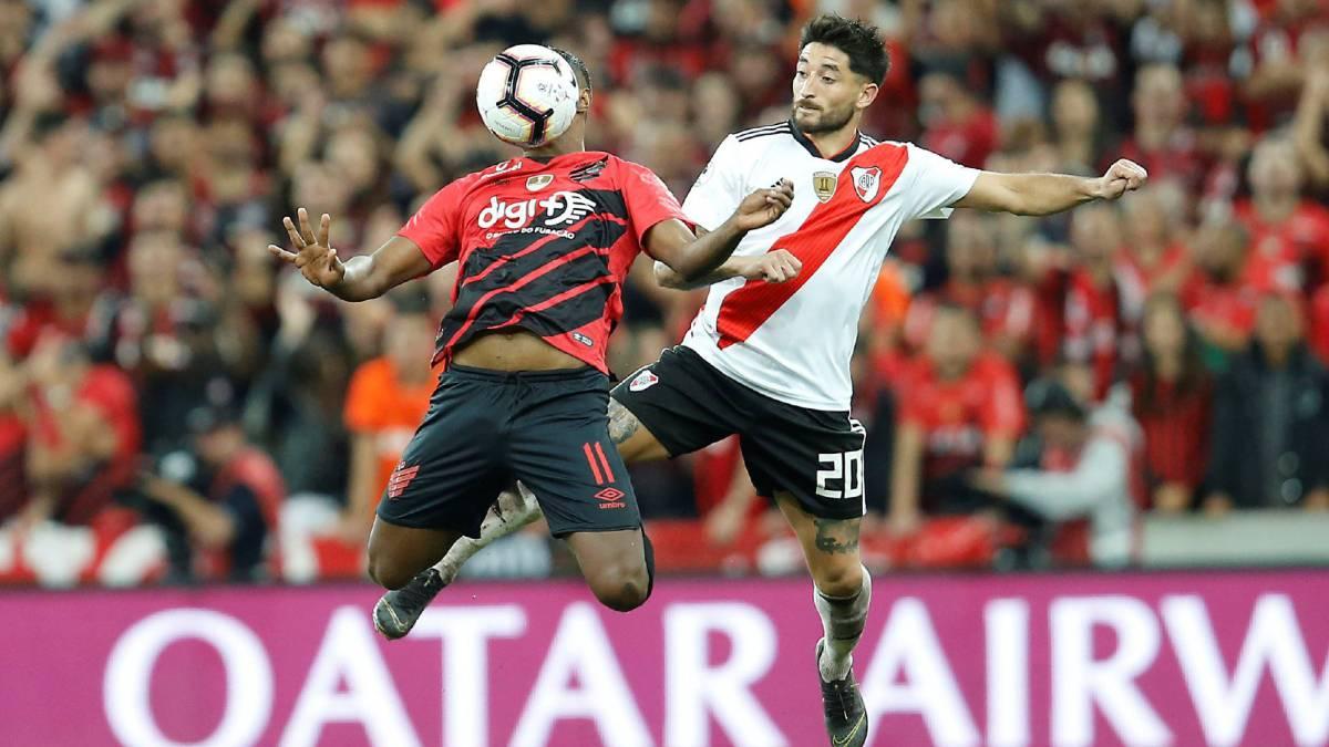River perdió la ida con Paranaense