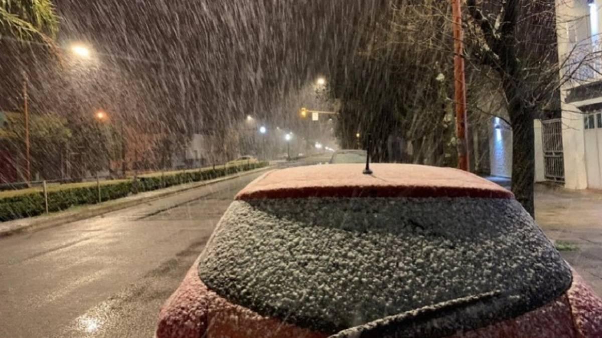 Ola de frío: ¿en qué ciudades de Argentina podría nevar? - AS ...