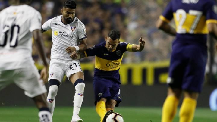 Sigue en vivo online la retransmisión del Boca vs Liga de Quito, partido de vuelta de los cuartos de la Copa Libertadores, hoy, 28 de agosto, en As.com.