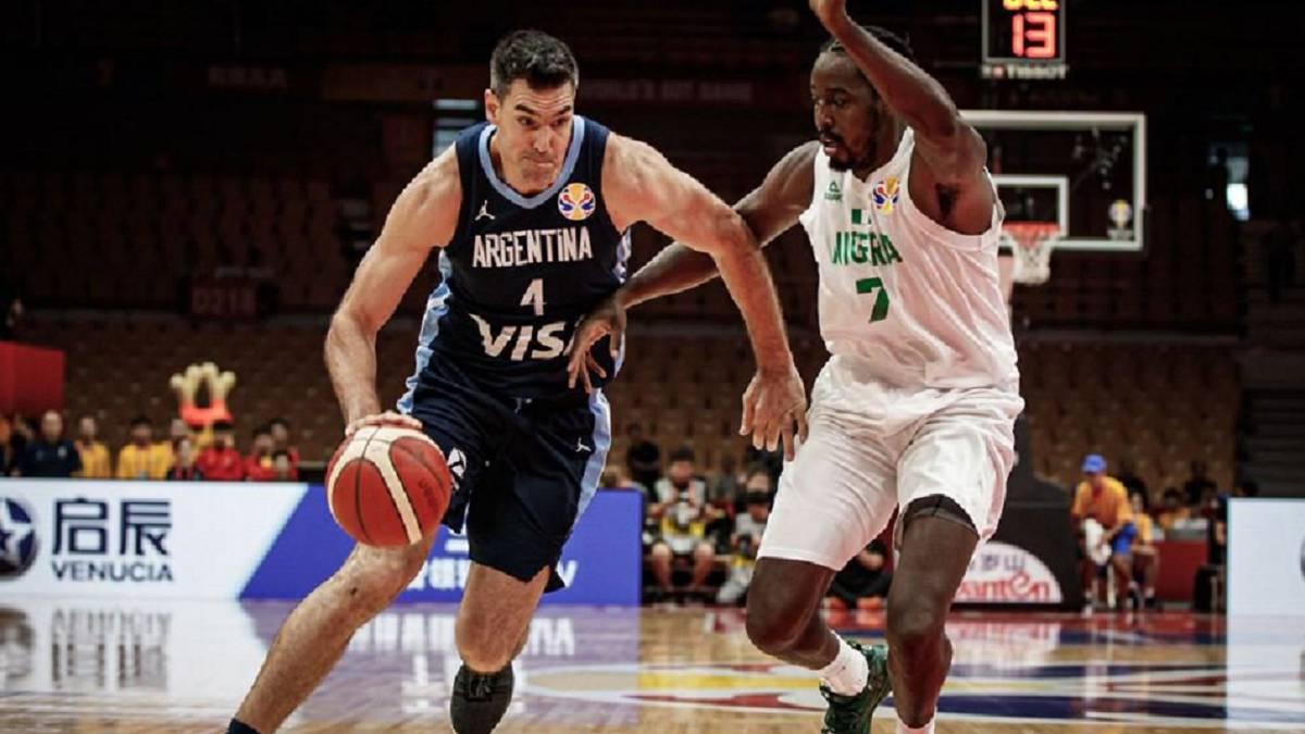Resultado de imagen para basquet argentina nigeria