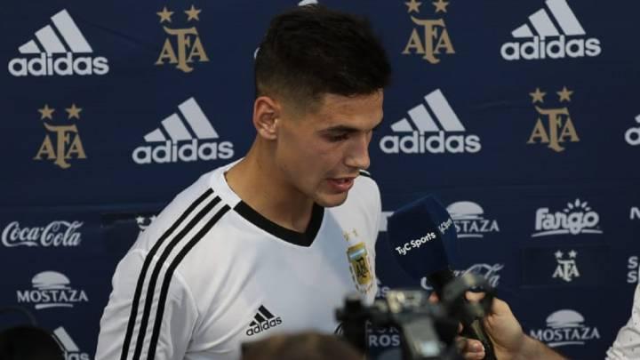 Martínez Quarta entra con fuerza en la Argentina de Scaloni - AS Argentina