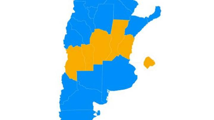 Resultado de imagen para MACRI ELECCIONES PAIS MAPA