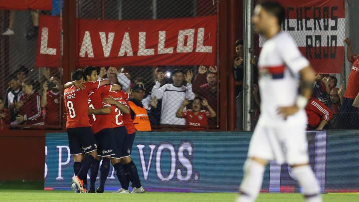 Independiente sometió a San Lorenzo con doblete de Romero