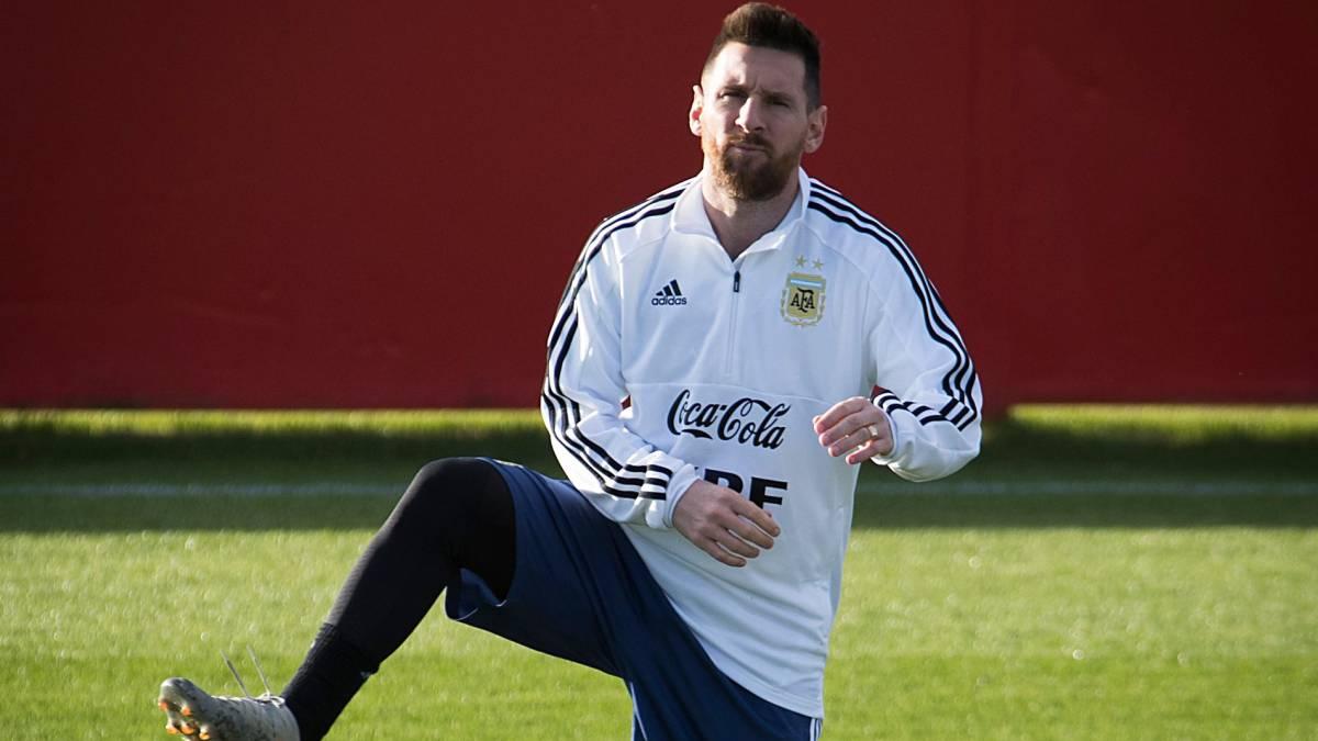 Messi y Agüero trabajaron con normalidad; Lautaro, al margen - AS Colombia