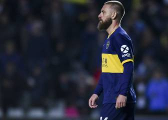 De Rossi leaves Boca Juniors and set to retire