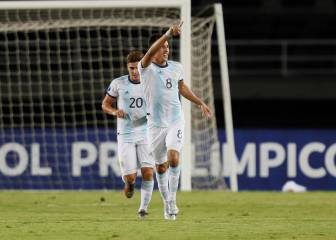 Argentina domina a Chile