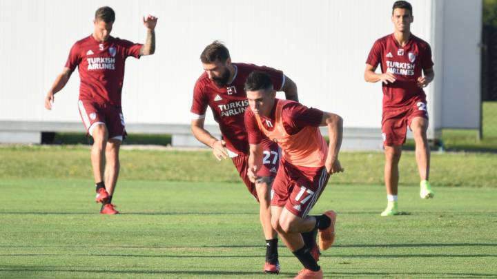 River arrancó la semana pensando en Defensa