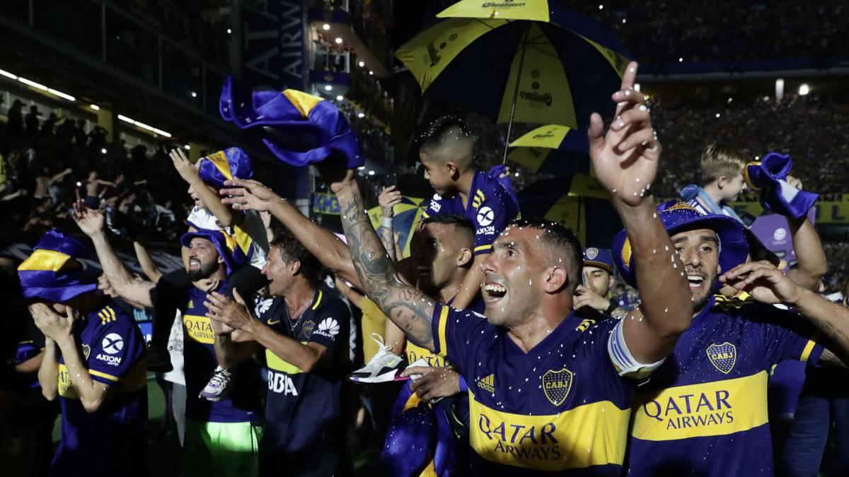 River felicitó a Boca por salir campeón de la Superliga - AS Argentina