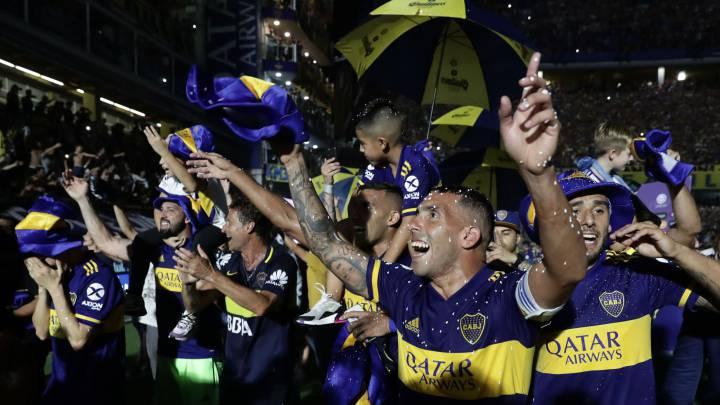 River felicitó a Boca por salir campeón de la Superliga