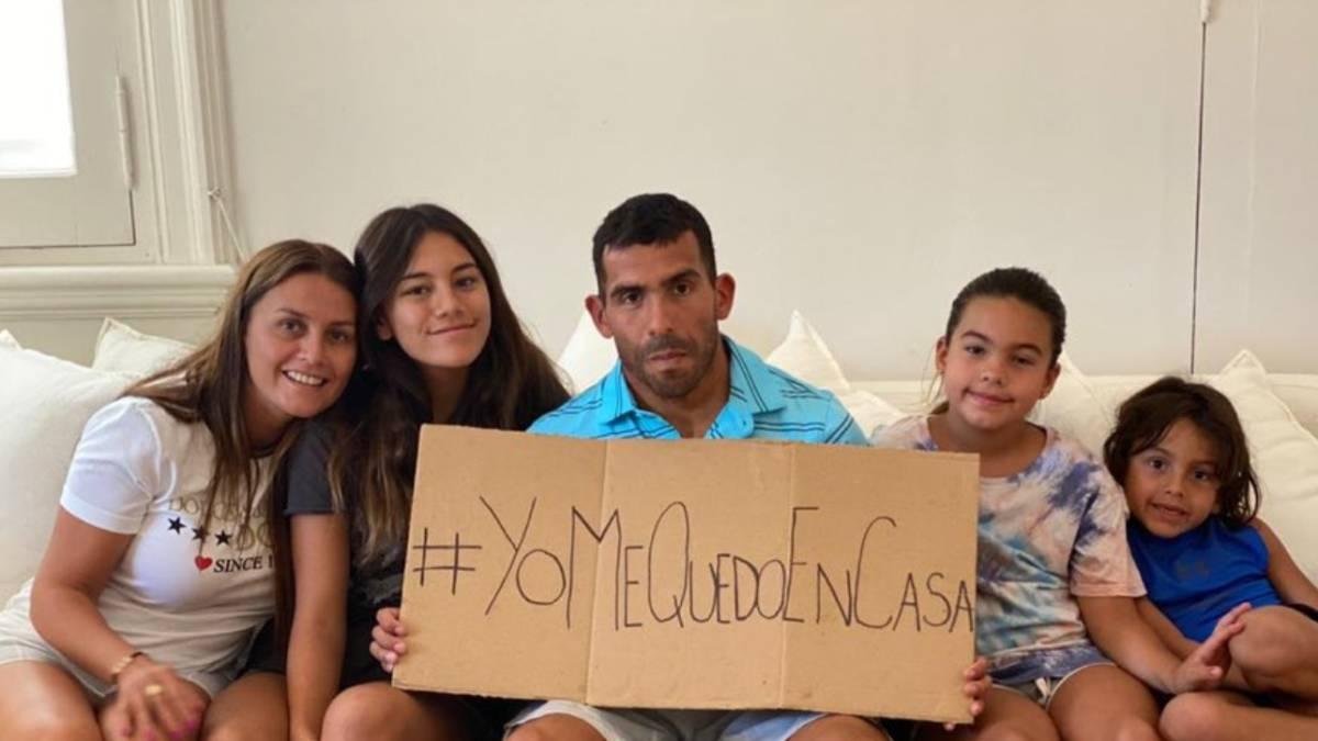 Coronavirus: el pedido especial de Carlitos Tevez - AS Argentina