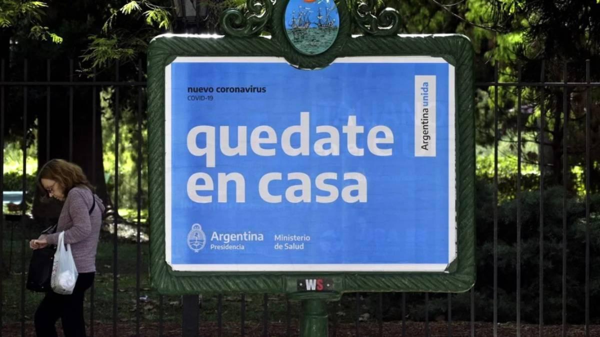 Así está la curva de contagios del Coronavirus en Argentina - AS ...