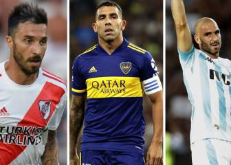 Los cracks de la Superliga que terminan contrato en junio