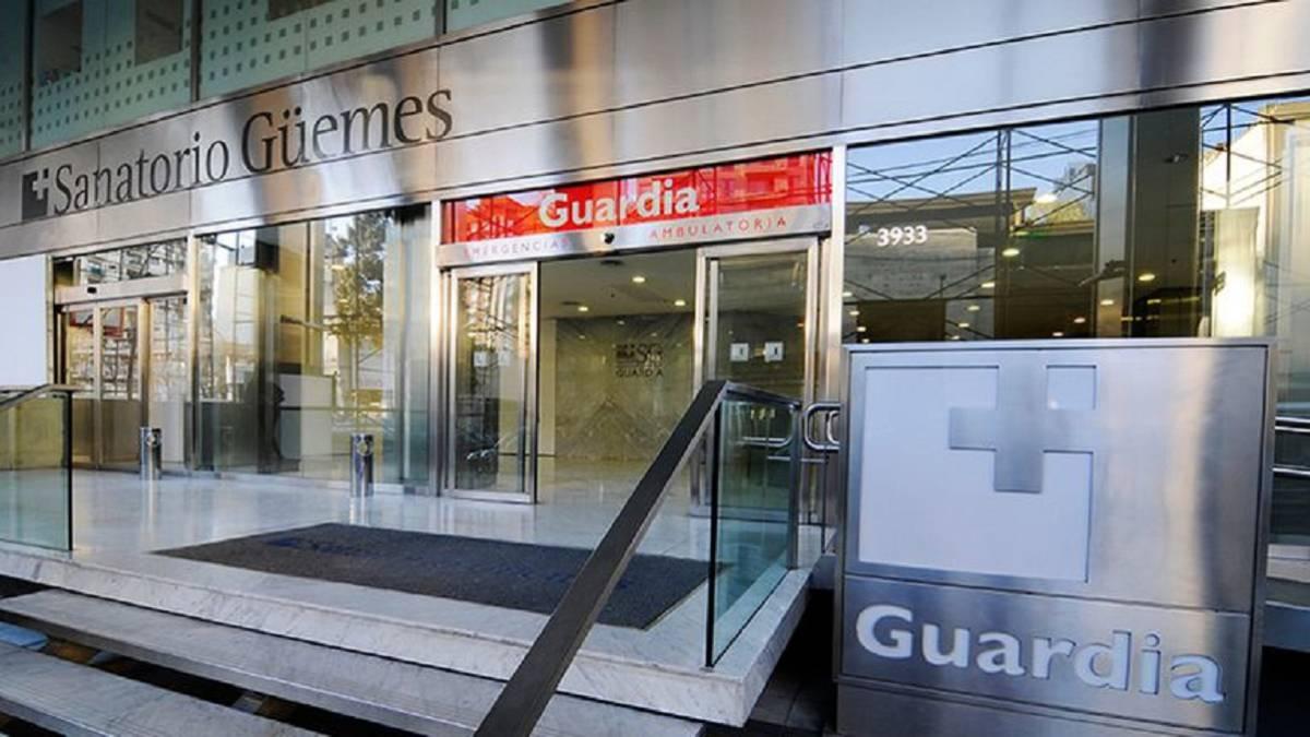 Sanatorio Güemes: 36 empleados contagiados de COVID-19 y otros 47 en aislamiento - AS Argentina