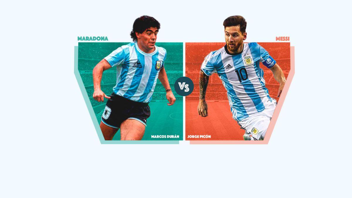 Maradona o Messi: ¿con cuál te quedas?