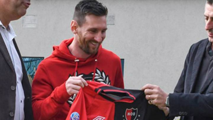 Newell's vice-president doesn't rule out Messi move