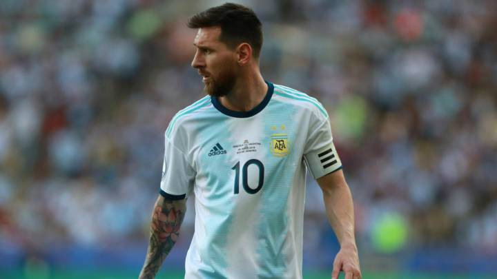 Lionel Messi's Argentina ban is over and he's available to play