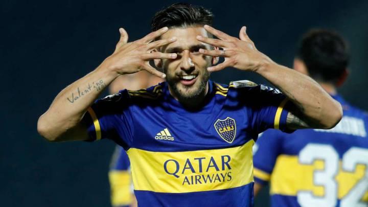 1x1 de Boca contra Libertad: Salvio marcó el camino - AS Argentina