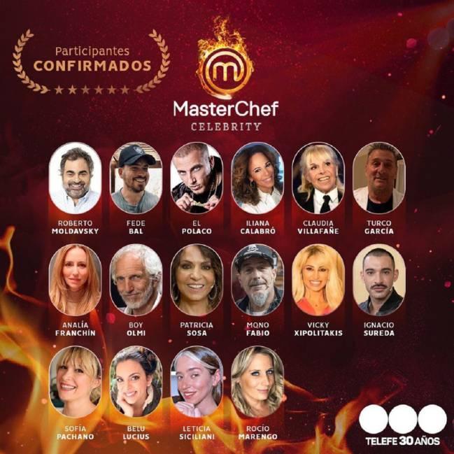 Masterchef Celebrity Argentina Participantes Famosos Premios Y Jurado As Argentina